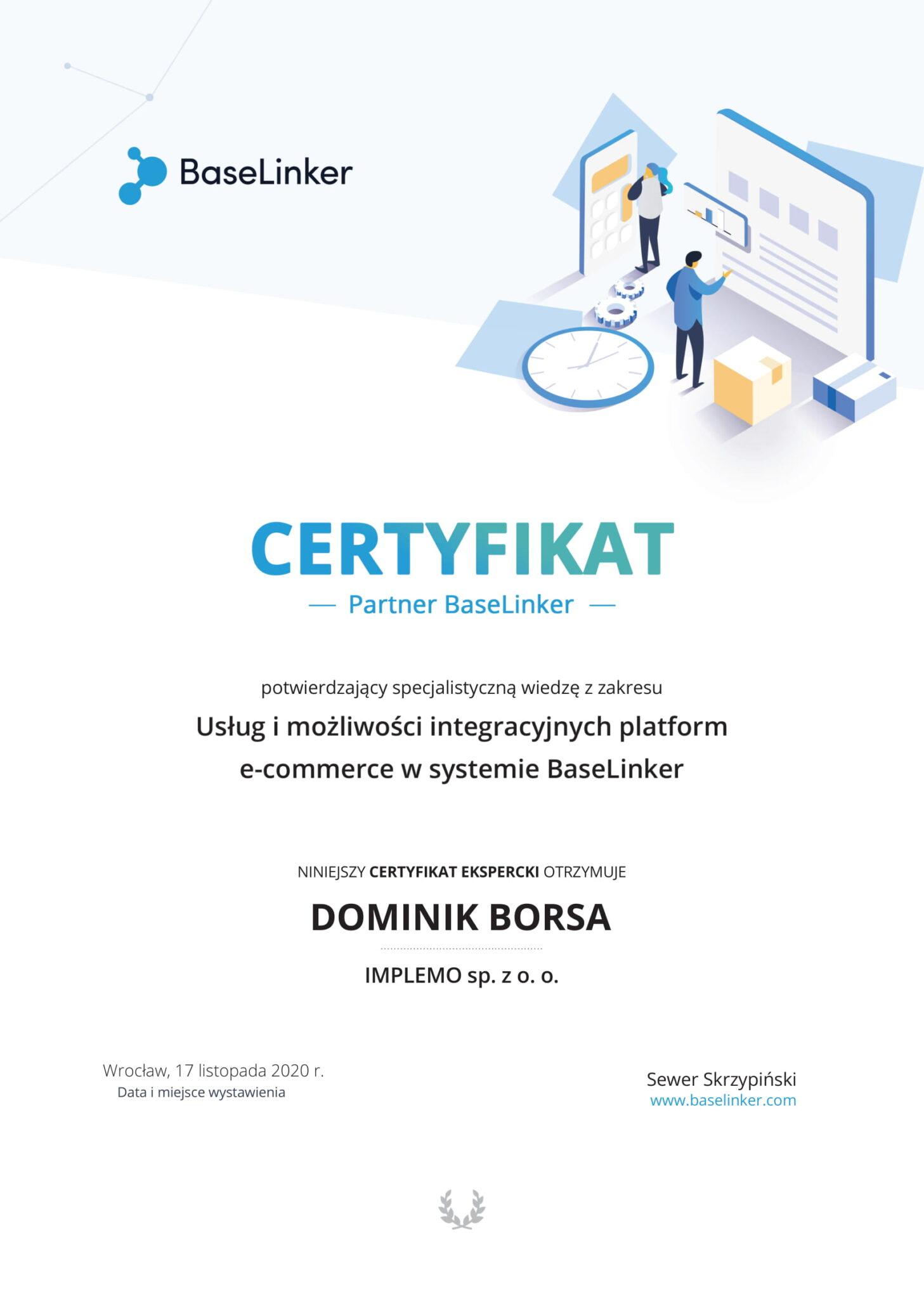 certyfikat_baselinker